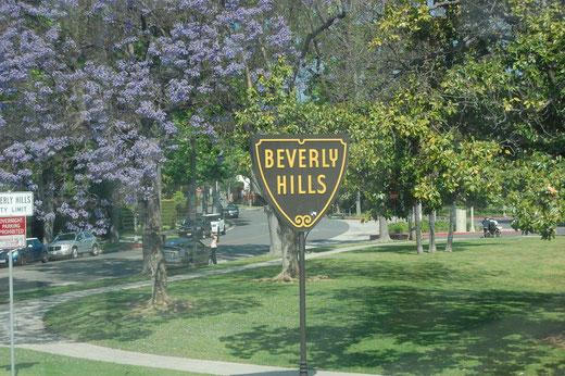 Es ging wieder durch Beverly Hills