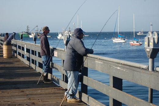 Auf dem Pier in Monterey