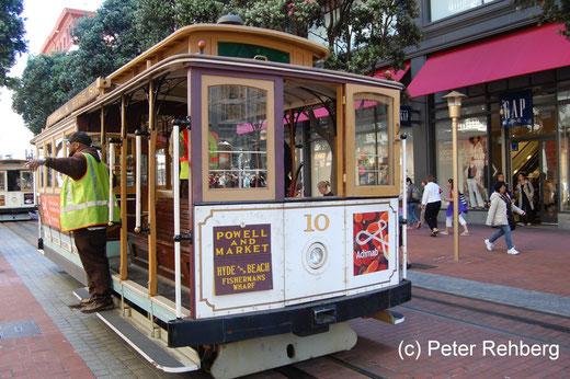 "San Francisco: ""unsere"" Cabel Car"