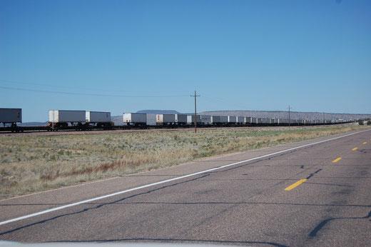 Ein Zug der BNSF