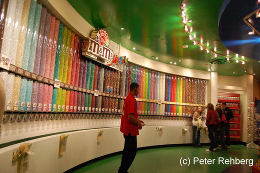 Las Vegas: M&M Shop
