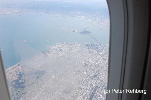 San Francisco: Landeanflug