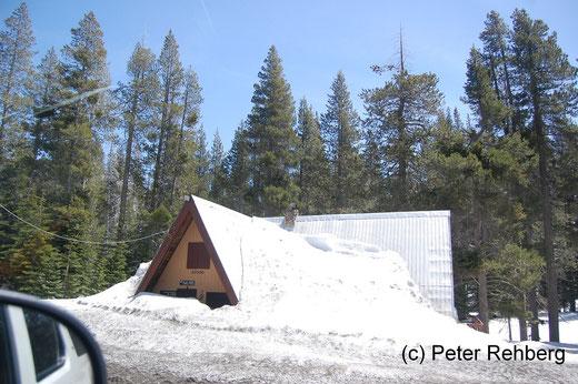 Kyburz: Wieviel Schnee hatten die erst im Winter ?