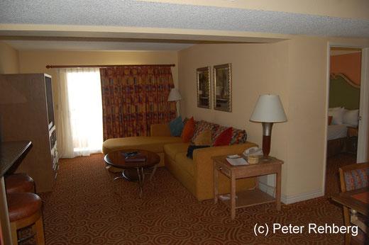 Las Vegas: Desert Rose, Wohnzimmer