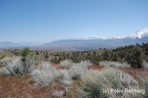 "Das ""Owens Valley"". Hier liegt Bishop"
