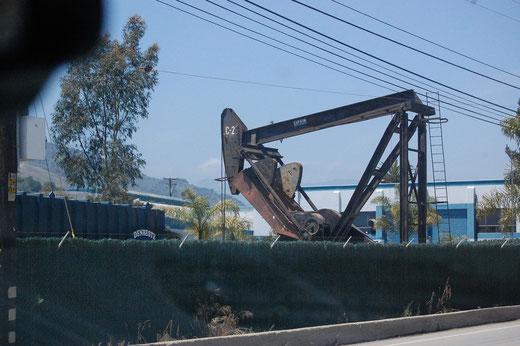 Erdölförderung in Californien war auch nicht bekannt