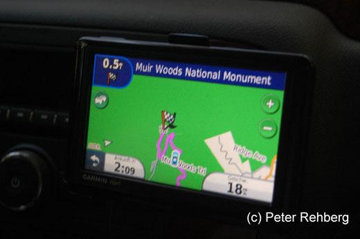Auf dem Weg zum Muir Woods National Monument