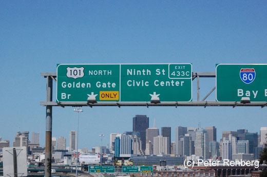 San Francisco: Auf dem Weg zur Wohnung