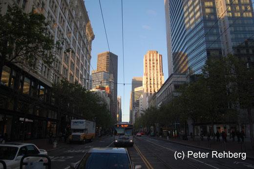 """San Francisco: Mit der Linie """"F"""" geht es Richtung Heimat"""