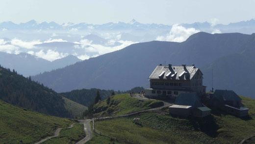 Wandergebiet Schliersee (800 bis 1900 m) mit herrlichen Ausblicken
