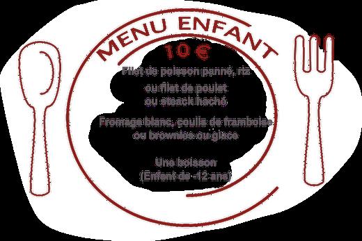 Formule enfant au restaurant Chez Grand Mère à Piriac