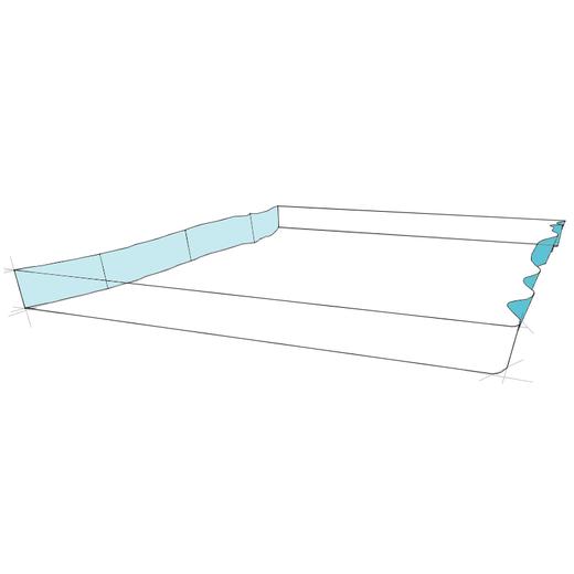 Waschtischplatte Naturkante aufsteigend