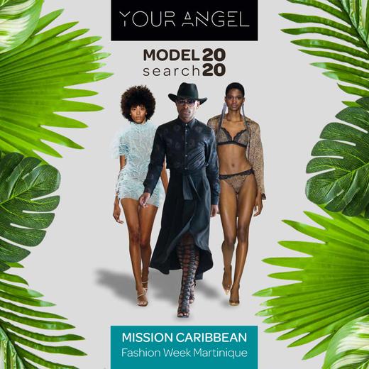 Avec le concours Your Angel Model Search, Steeven Jean-Yves Zamor souhaite donner plus de  visibilité aux mannequins noirs et métissés à l'échelle internationale.