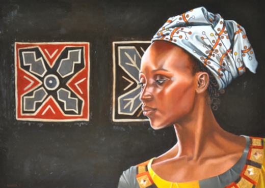 peinture-art-femme-afrique-burkina-faso