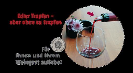 Weinausgiesser für 20 Rappen
