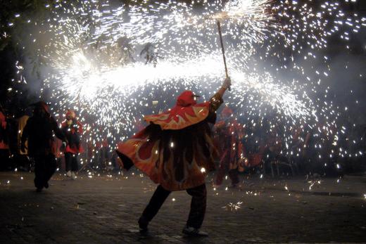 Ночь Святого Иоанна в Барселоне