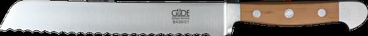 Güde Alpha Birne - Brotmesser B430/21