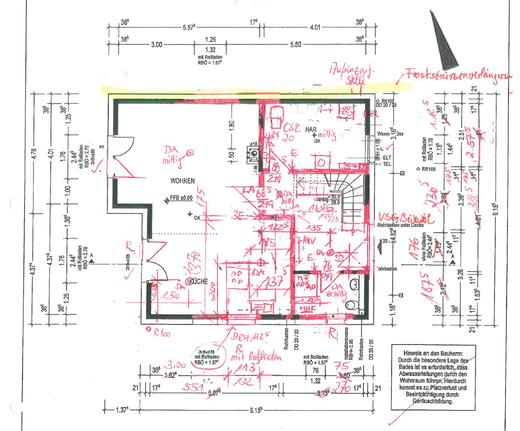 Grundriss hausplanung bautagebuch von susi und frank for Hausplanung grundriss