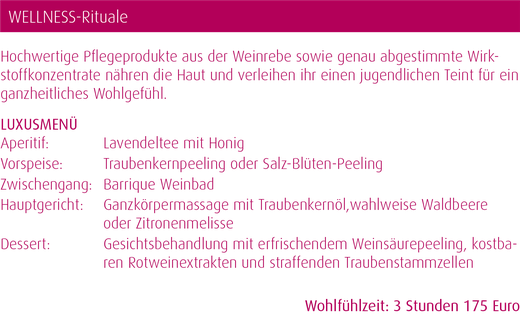 Wellness Luxusmenü des Kosmetikstudios Beauty Boutique Magdeburg