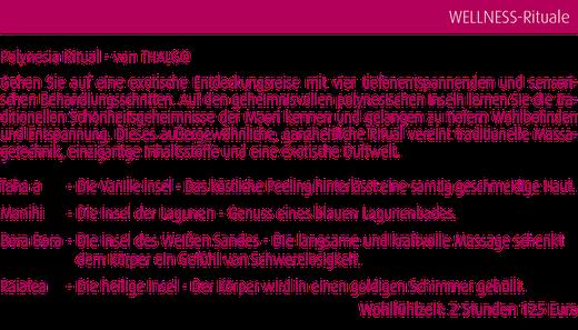 Polynesische Wellness Reise in Magdeburg