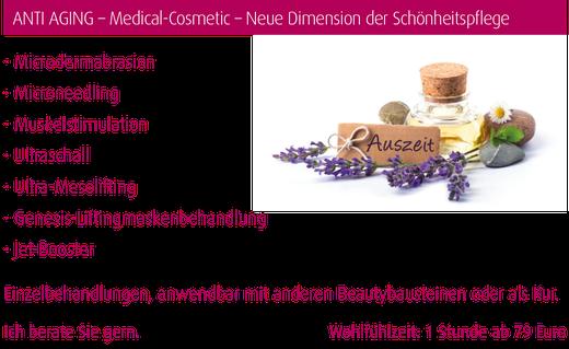 Medizinische Kosmetik in der Beauty Boutique in Magdeburg