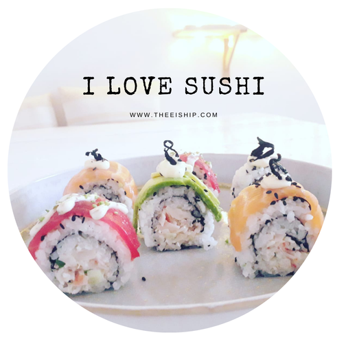 I love sushi. By Thee is Hip!