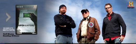 UFO-Hunters - Die komplette 1. Staffel auf 4 DVDs