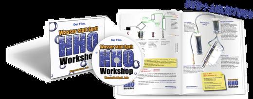 Wasser statt Sprit - DVD-Workshop mit ausführlicher Anleitung!
