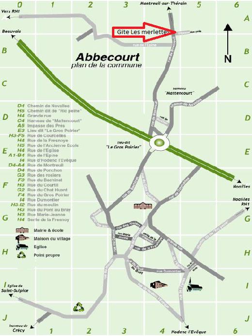 Abbecourt proche de Beauvais