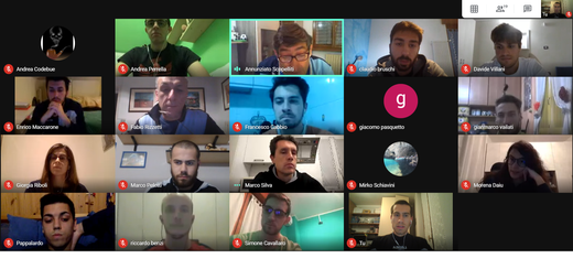 """Foto di """"gruppo"""" dell'incontro tra gli associati degli organi tecnici nazionali e di quello regionale"""