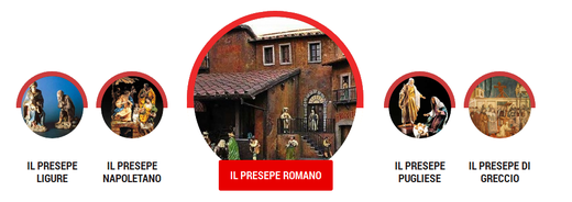 I presepi tradizionali, Roma