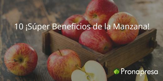 10 ¡Súper Beneficios de la Manzana!
