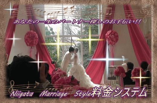 Niigata Marriage Style 料金システム