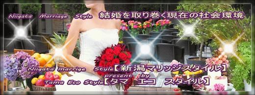 Niigata Marriage Style 結婚を取り巻く現在の社会環境