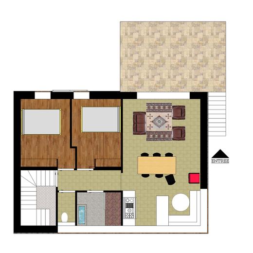 mod le hendaye herv br maud maitre d 39 oeuvre b timent poitiers. Black Bedroom Furniture Sets. Home Design Ideas