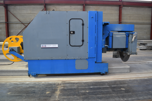 CROSS CUT SAW FOR HOLLOW CORE SLABS