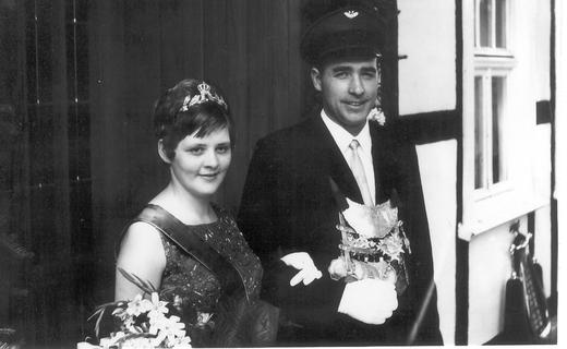 Ursula und Josef Bender im Jahr 1967