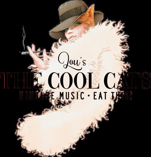 """Das neue Logo von der Vintage Band """"Lou's The Cool Cats aus Köln"""