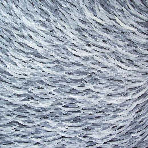 2242  Monochrom Moving  Acryl auf Hartfaser 57 x 57  2018