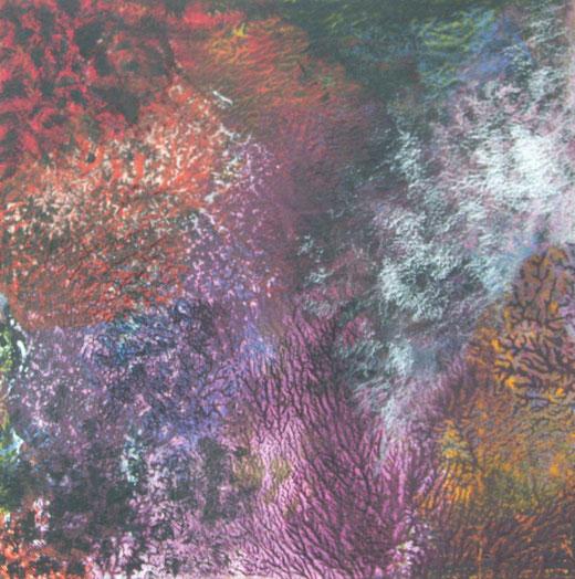 1647 org.strukturen acryl, ölfarbe auf hartfaser 60x60 2015