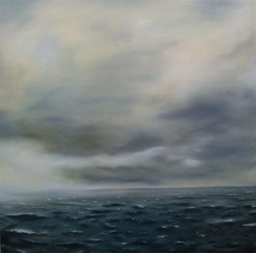 Nordsee  Öl auf Leinwand  100x100  2009