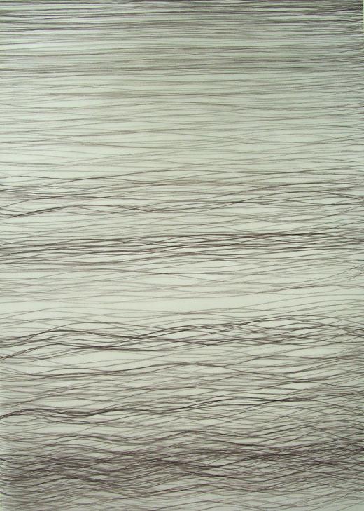 2059  tinte auf transparentpapier  30x42  2017