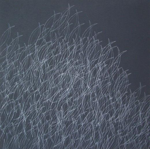 2265   Monochrom Moving   Acryl auf Hartfaser  60 x 60   2018