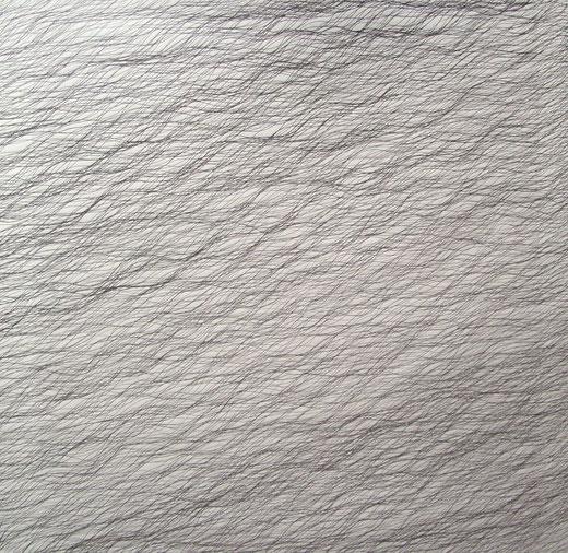 2054  tinte auf papier  70x70  2017