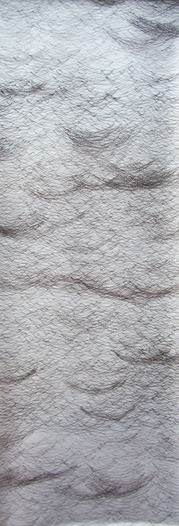 2057  tinte auf papier  46x130  2017