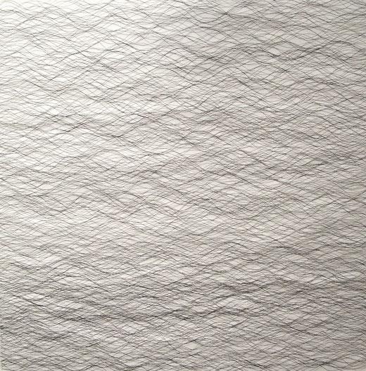 2053 tinte auf papier  70x70  2017