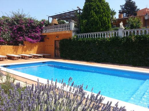 Bells maison pour 12/13 personnes avec piscine privée et vue sur la mer à louer pour les vacances à Tossa de mar