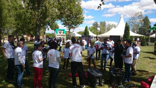 Evento corporativo con Madrid Láser Combat, eventos a domicilio