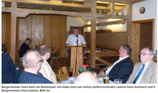 Klaus Hafner CSU Ortsverband Königstein Hirschbach Ehrenamt Kürmreuth Hans Koch Hans Kummert Landrat