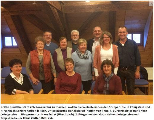 CSU Ortsverband Königstein Hirschbach Klaus Hafner Tanja Appel Koch Hans